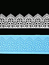 spetsar mögel fondant verktyg socker mögel silikon tårta dekoration