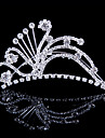 Fashion Alloy Tiaras With Rhinestone Wedding/Party Headpiece