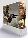 B-Skin Wii-konsolen skyddande klistermärke täcker flår controller hud klistermärke