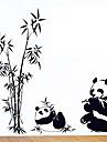 miljö avtagbar Panda pvc vägg sticker