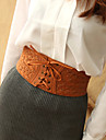Women PU Wide Belt,Vintage / Cute / Party / Work / Casual All Seasons