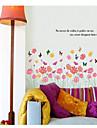 stickers muraux stickers muraux, type de fleur stickers muraux PVC