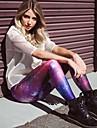 Pantalon de yoga Leggings Respirable / Sechage rapide / Materiaux Legers Taille moyenne Extensible Vetements de sport FemmeYoga / Fitness