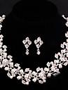 Set bijuterii Pentru femei Aniversare / Nuntă / Logodnă / Zi de Naștere / Cadou / Petrecere / Ocazie specială Set BijuteriiArgintiu /