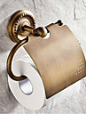 Porte Papier Toilette Laiton Antique Fixation Murale 16.4*13*7.3cm(6.5*5.1*2.9inch) Laiton Antique