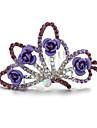 Women\'s Rhinestone / Alloy Headpiece-Wedding / Special Occasion Tiaras 1 Piece
