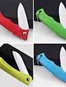 vikbara keramisk kniv färgstarka frukt skalare (slumpvis färg) 18x3.5x2cm