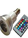 5W E14 Spot LED LED Haute Puissance 450-860 lm Gradable AC 100-240 V 1 piece