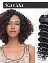 1 år garanti mix längd jungfruligt indiskt djupt lockigt hår, vinkar djupt vått och wavyindian remy hårväv