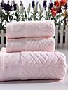Ensemble de serviette de bain - Broderie - en 100% Coton