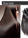 Blanda längd jungfruligt indiskt remy väv, 100% indiska löshår rakt rå jungfruligt indiskt hår
