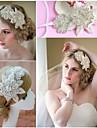 Femei Perle Cristal Diadema-Nuntă Ocazie specială Informal Exterior Tiare Cordeluțe Lănțișor de cap 1 Bucată