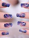 Tecknat - Finger - 3D Nagelstickers - av Andra 9.5*6*0.1 - cm