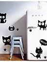 chat noir stickers muraux