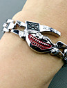 Smycken Inspirerad av Tokyo Ghoul Cosplay Animé Cosplay Accessoarer Armband Röd / Silver Legering Man