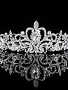 bruden kronan Han upplaga skinande diamanttiara bröllop smycken varm stil sälja