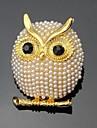 Dame Broșe Stil Floral La modă Personalizat Euramerican Ștras Aliaj Animal Shape Bijuterii PentruNuntă Petrecere Ocazie specială Zilnic