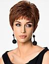 Europa och Förenta staterna att sälja en strykande åtgång med brunt kort peruk mode och personlighet