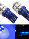 2 x T10 W5W SMD 20 LED Side Light Tail Wedge Interior Bulb 12V Blue Light