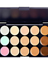15 Colors 3in1 Professional Camouflage Natural Facial Concealer/Foundation/Bronzer Makeup Cosmetic Palette