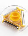 1 pieces Peeler & Rape For Pour Fruit / Pour legumes Plastique Multifonction / Haute qualite / Creative Kitchen Gadget / Nouveautes