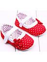 Fille-Exterieure / Habille / Decontracte-Rose / Rouge / OrangePremieres Chaussures-Ballerines-Tissu