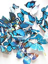 La simulation papillon stereoscopiques stickers muraux