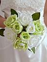 """blanc vert bleu violet rouge Bouquet de roses 7,87 """"chaque bouquet 6 tetes avec 3 boutons"""
