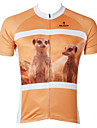 ILPALADINO Maillot de Cyclisme Homme Manches courtes Velo Maillot Hauts/TopsSechage rapide Resistant aux ultraviolets Compression