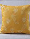 sjöhäst mönster modern stil bomull / linne dekorativa kuddöverdrag