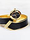 magnifique dame de serpent montre montre bracelet de quart