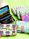 Porte-cartes de credit - Mignon/Business/Multifonction - Couleurs aleatoires - en Plastique -