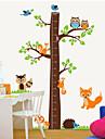 stickers muraux mur ecureuil de style de decalcomanies pour Mesurez votre taille pvc stickers muraux