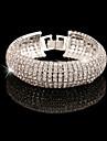 Bracelet Chaine / Tennis / Diametre interieur Alliage Cristal Femme