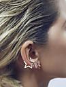 Dame Cercei Stud Cătușe pentru urechi stil minimalist La modă Articole de ceramică Star Shape Bijuterii PentruNuntă Petrecere Zilnic