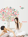 Wall Stickers Wall Decals Style Love Flower Tree PVC Wall Stickers