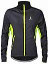 WOLFBIKE Veste de Cyclisme Homme Velo Veste Shirt Coupe-vent Anorak fleece / Polaires Hauts/TopsGarder au chaud Pare-vent Doublure