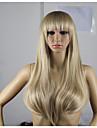 longs cheveux de vague naturelle perruques perruques de cheveux style de mode d\'onde synthetique