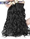 """3 st / lot 8 """"-30"""" 6a brasilianska jungfru hår naturligt våg hårförlängningar 100% obearbetat jungfru människohår väver"""
