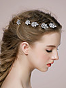 Women\'s Rhinestone / Alloy Headpiece-Wedding / Casual Hair Pin 1 Piece