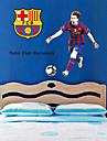 stickers muraux autocollants de mur, passionnantes andres de football messi pvc stickers muraux