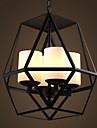 60 Lampe suspendue ,  Traditionnel/Classique Retro Peintures Fonctionnalite for Style mini MetalSalle de sejour Chambre a coucher Salle a