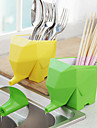 jumbo elefanten bestickhållare tandborsthållare (slumpvis färg)