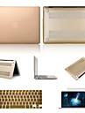 """couleurs solides de haute qualite pvc etui rigide avec protection d\'ecran et film clavier pour macbook air 13,3 """""""