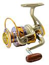 Fiskerullar Spinning Reels 5.5:1 10 Kullager VÄNSTERHÄNTSjöfiske / Flygfiske / Bait Casting / Isfiske / Spinning / Jigging fiske /