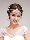 Mujer Diamantes Sinteticos / Aleacion Celada-Boda / Ocasion especial / Al Aire Libre Cadena para la Cabeza 1 Pieza