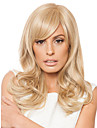 High Quality Capless Long Wavy Mono Top Virgin Remy  Human Hair Wigs 7 Colors to Choose