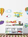 vägg dekaler vägg dekaler stil luftballong pvc väggdekorationer