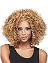 nouvelle sans colle melange blond profonde de la mode des femmes boucles courte perruque de cheveux pour les afro-americaine