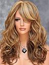 perruques de volume rasage de la mode de poire americaines et europeennes couleur couleur de melange